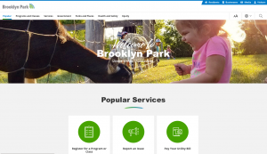 Brooklyn Park website