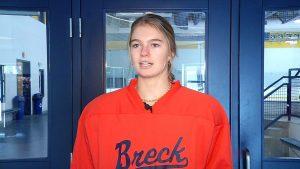 Breck girls hockey