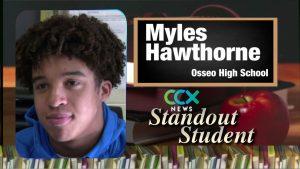 Standout Student: Myles Hawthorne
