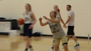 Providence Academy girls basketball