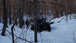snowmobile club plane crash