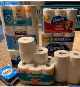 toilet paper donation