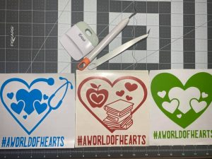 A World of Hearts Decals