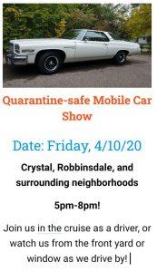 quarantine safe car show