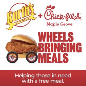 wheels bringing meals
