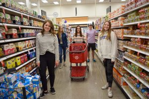 grocery gatherers