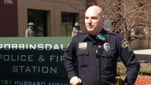 Robbinsdale Police talk about scams.