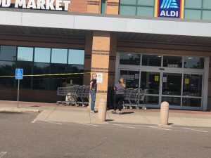 Stores closing protests
