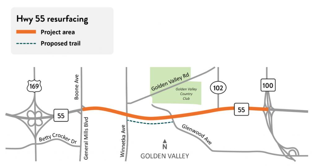 golden valley trail