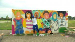 Brooklyn Park mural