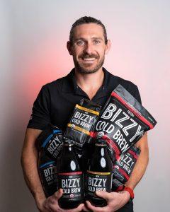 Bizzy Coffee Cofounder Andrew Healy