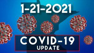 January 21, 2021 COVID-19 Update