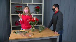 valentines day len busch roses