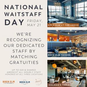 national waitstaff day