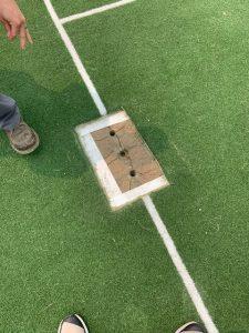 cricket pitch