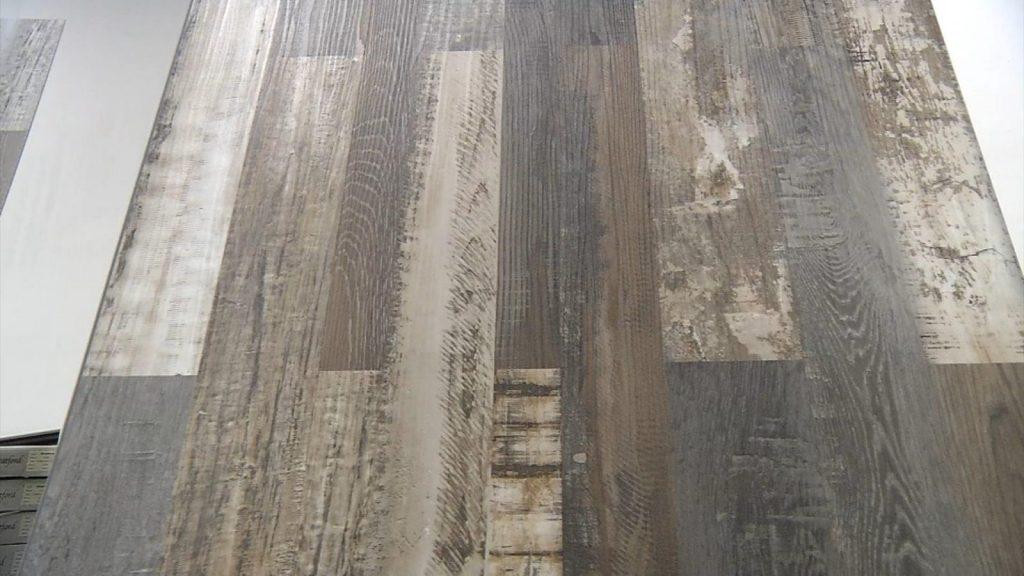 Example of luxury vinyl plank flooring