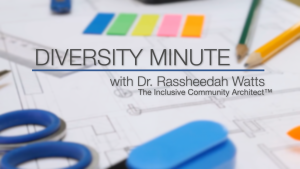 Title page for Diversity Minute