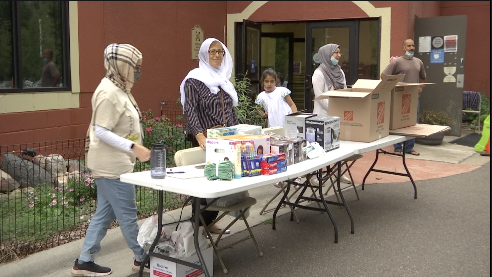 afghan refugee supply drive plymouth