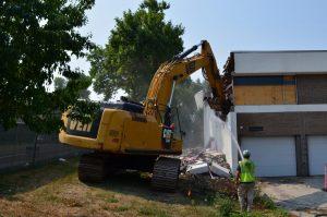 crystal police building demolition