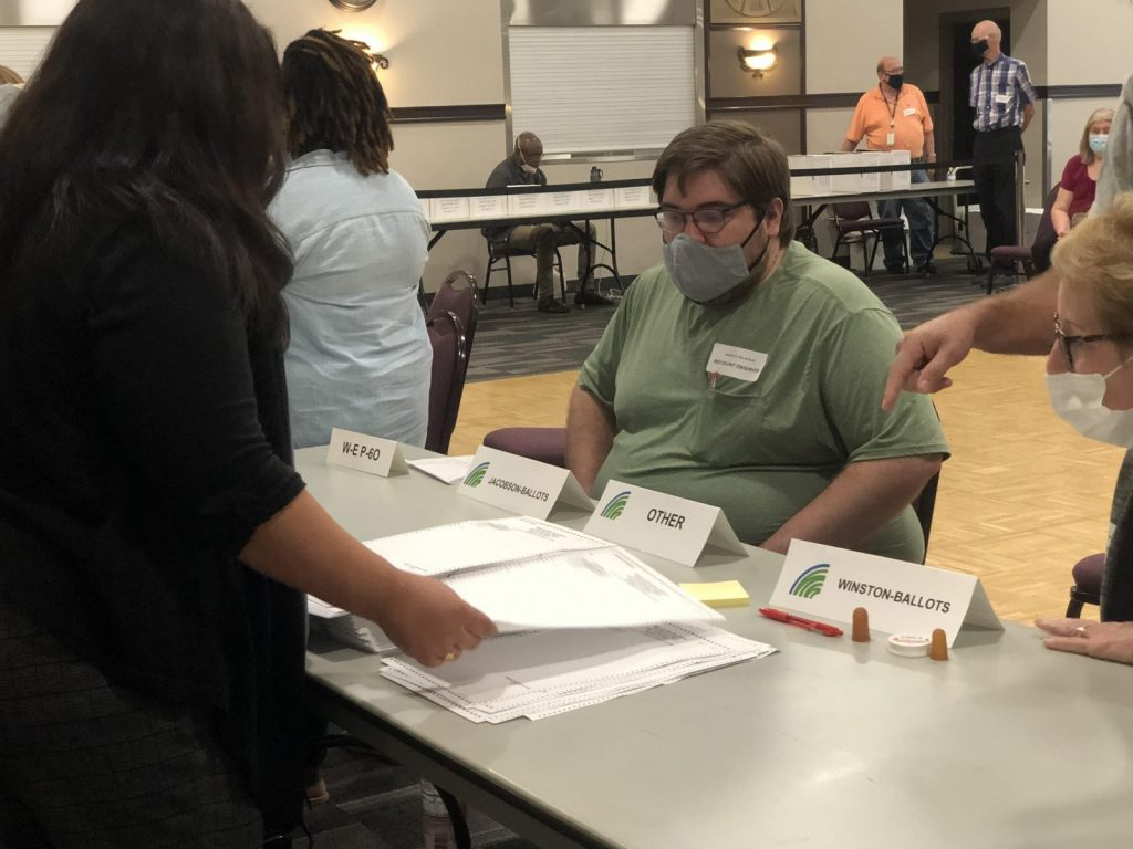 brooklyn park election recount