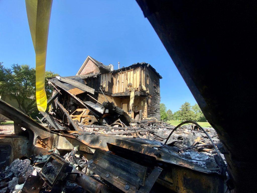 Brooklyn Park house fire