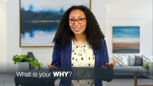 """Dr. Rassheedah asks, """"What is your WHY?""""."""