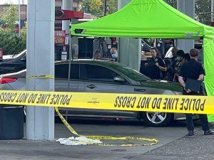 Brooklyn Center Speedway Crime Scene