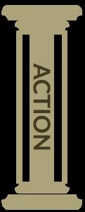 Action pillar of The A.C.A. Pillars of effective allyship